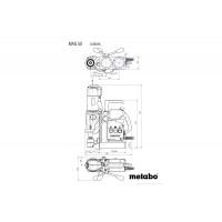Máy Khoan Lõi Từ Tính METABO MAG 50 (220-240 V / 50-60 Hz)